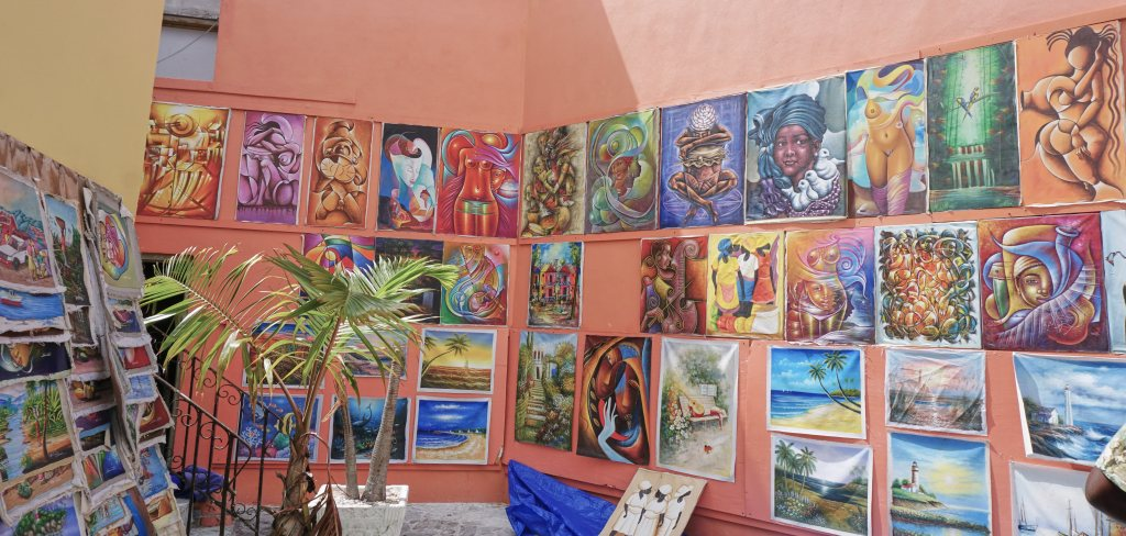Bahamian art exhibit