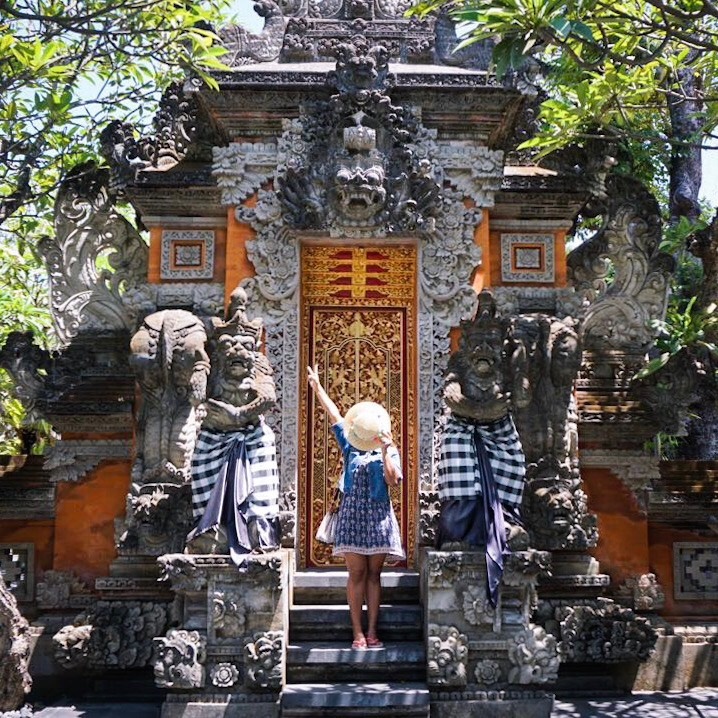 Temple architecture in Bali