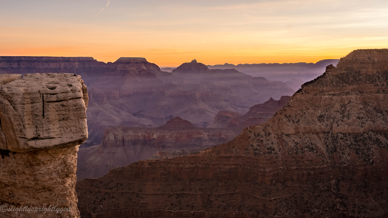 Sunrise at Grand Canyon National Park