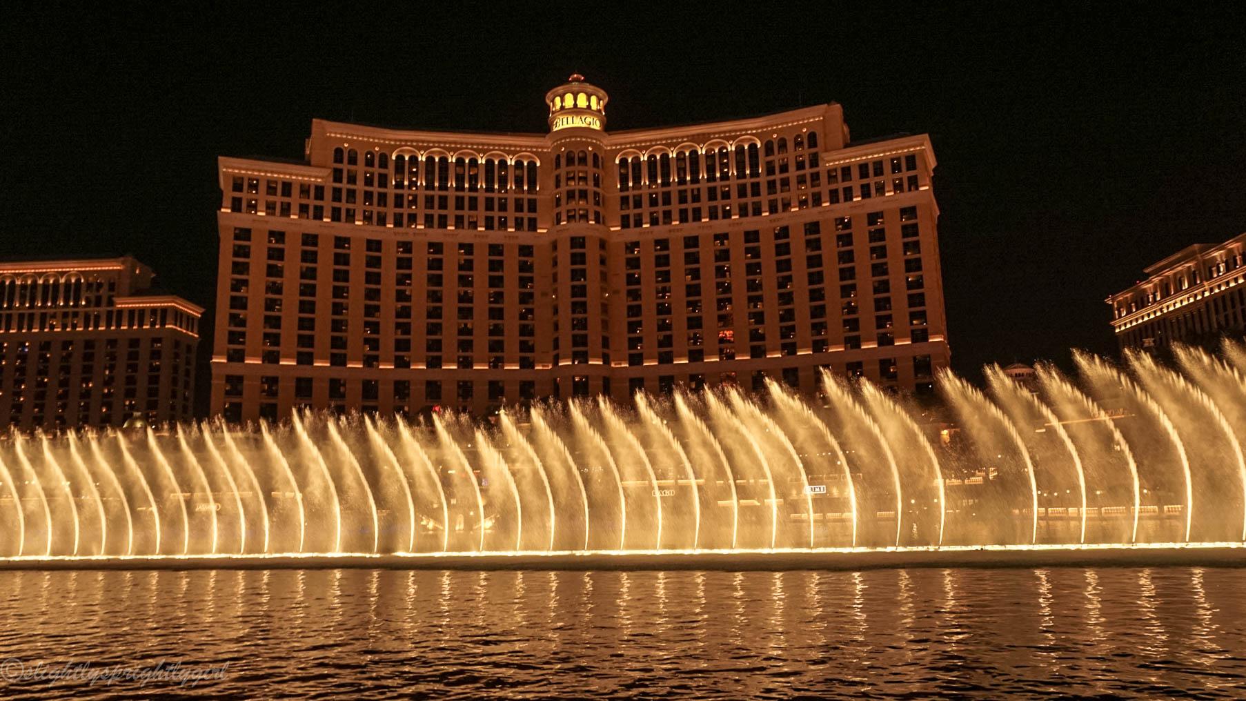 Bellagio Fountain show Las Vegas