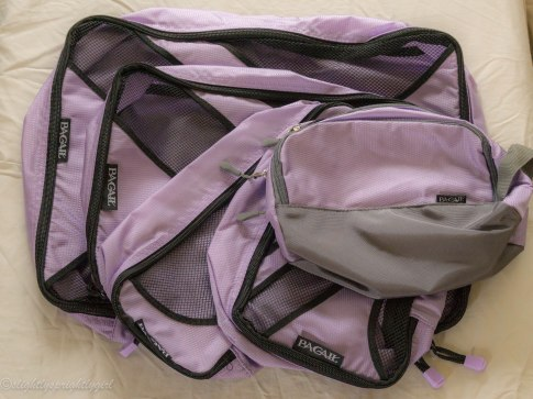 Packing cubes : You can find these on Amazon.com