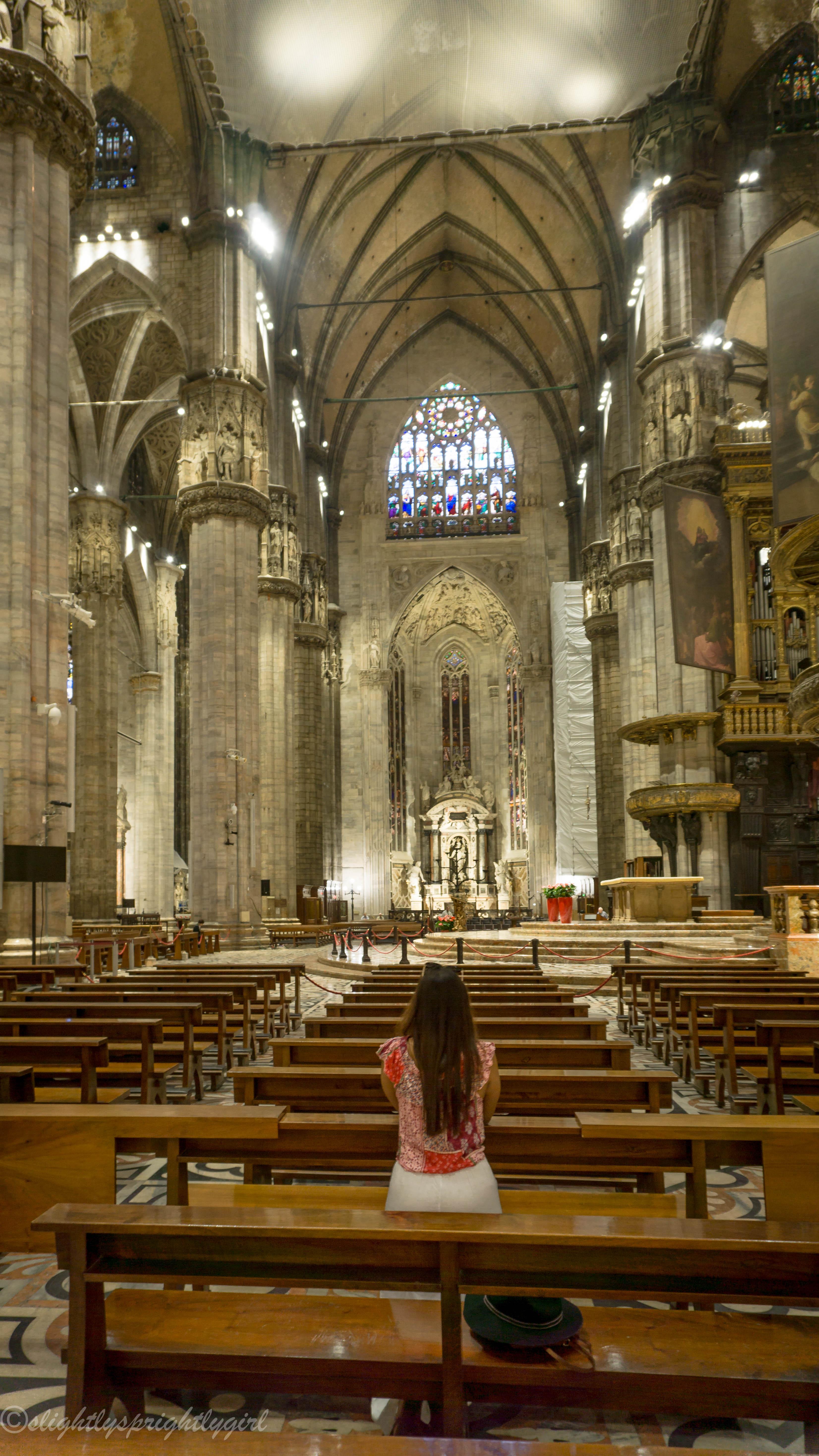 Duomo di Milano interior