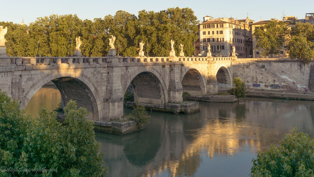 Pretty bridges all around Rome