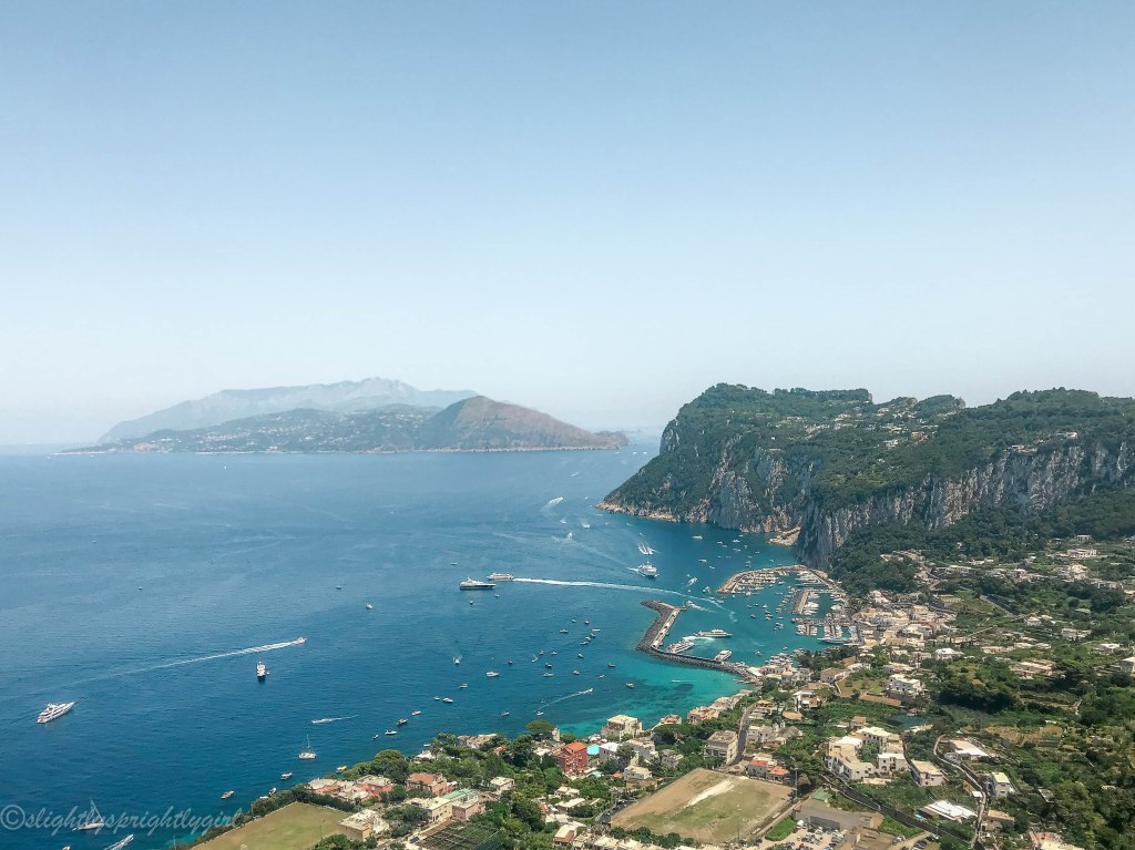 Capri from top
